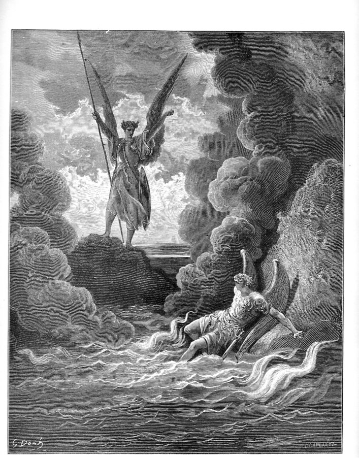 satan's physical appearance in paradise lost In john milton's paradise lost, explain the relationships between satan, death, and sin describe the appearance of each being.